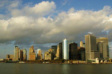 South Manhattan Skyline Stock Photo - 5800950