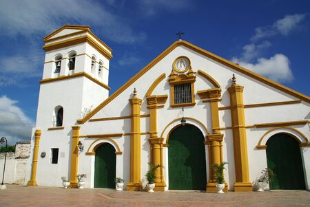 magdalena: Colonial architecture in the old town of Mompox near the Magdalena river