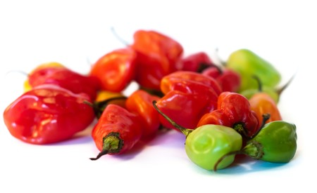 guadalupe island: Peppers from the Carribean Islands