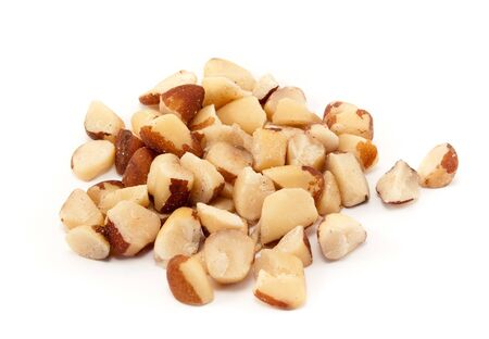Brazil nuts from the Amazon forest with high lipid content and similar to Macadamia nut photo