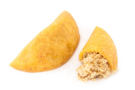 colombian: Empanadas are stuffed pastries made with corn flour and filled with meat or cheese