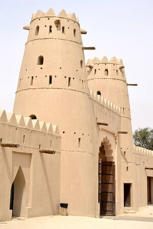 Al Jahili Fort, Al Ain - Abu Dhabi - United Arab Emirates Editorial