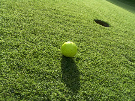 Yellow ball photo