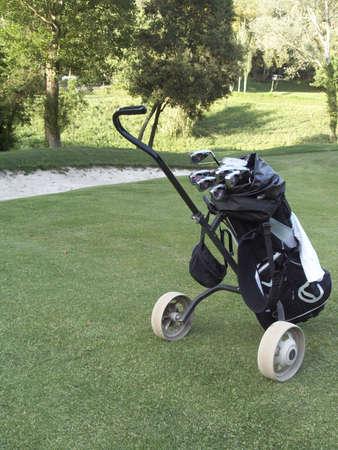 golfs bag photo