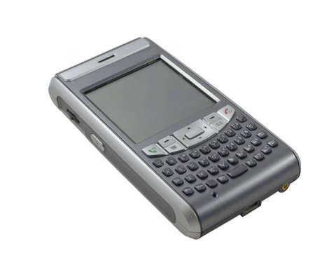 Organizer phone isolated on white Stock Photo