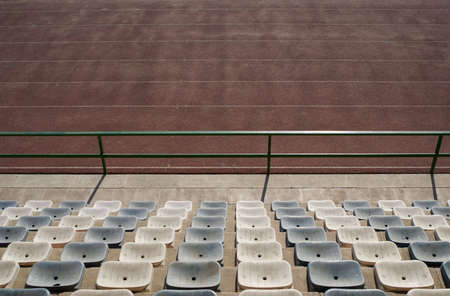 Athletics stadium seats