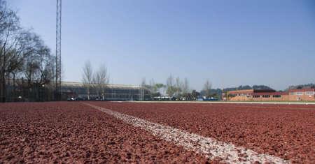 Athletics stadium  Stock Photo