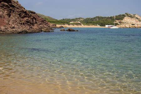menorca: Beauty beach at Menorca Island