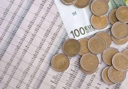 European currency, Euro photo