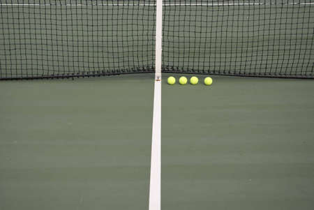 point and shoot: Tennis court background