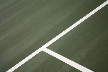 Tennis court lines background Stock Photo