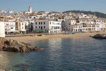 Coastal view of Calella de Palafrugell, Spain