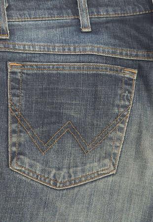 Back pocket of a jeans