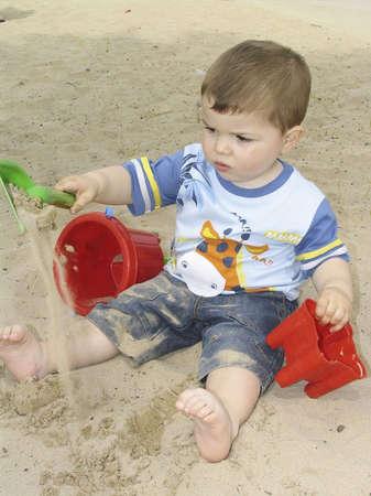 Portrait of an adorable little child Stock Photo