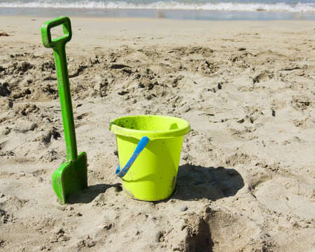 Summer and vacaction concept   beach toys   Stock Photo