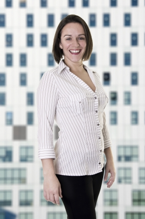 Female office worker   Business woman Stock Photo - 18101067
