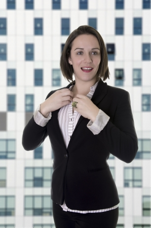 Female office worker   Business woman   Stock Photo - 18126336
