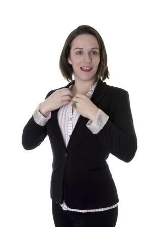 Female office worker   Business woman   Stock Photo - 18126339