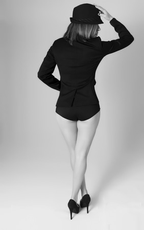 A mature woman ( 40s ). Fashion & wear