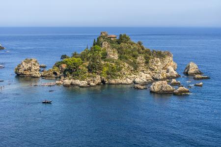 Small uninhabited island in the sun.