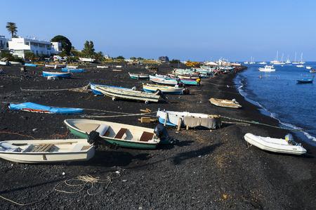 Aeolian Islands, Sicily, Italy.