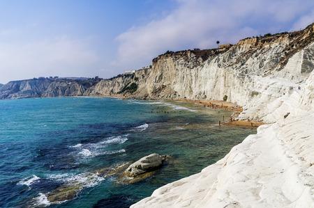 White beach ( Scala dei Turchi - Italy )