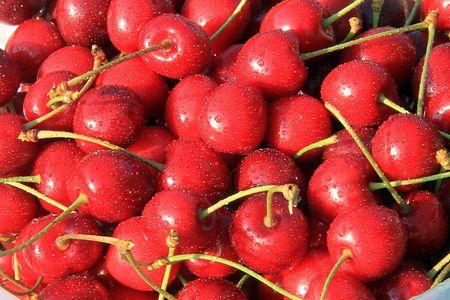 bing:  bing cherry Stock Photo