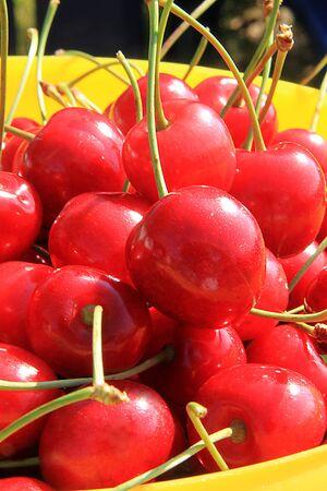bing cherry Stock Photo