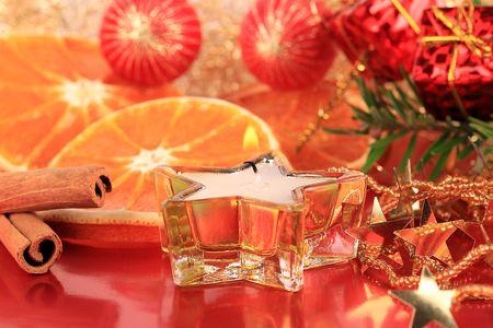 christmas scent: Un bodeg�n de Navidad con naranjas y canela