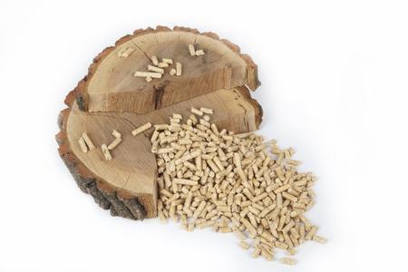 Les granulés de bois pour les cheminées et les poêles