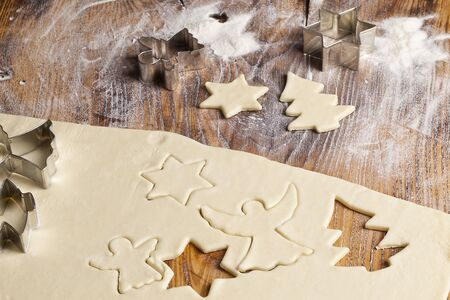 Baking Christmas Cookies Stock Photo - 14960417