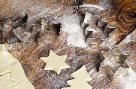 Baking Christmas Cookies Stock Photo - 14960419