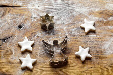 Baking Christmas Cookies photo