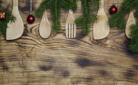 Christmas wooden spoons Stock Photo - 15256556