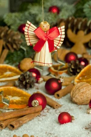 Handmade christmas angel photo