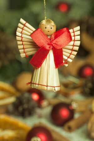Handmade christmas angel