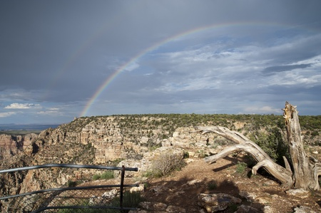 Grand Canyon Rainbow  photo