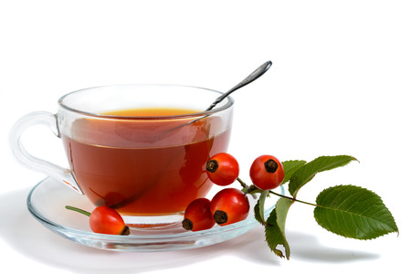briar: A cup of briar drink on isolated background