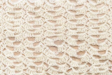 tejido de lana: Crochet woolen fabric pattern usable as wallpaper