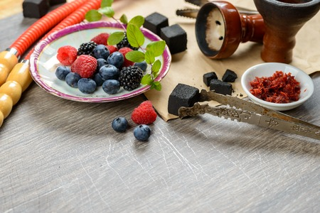 Berry hookah set