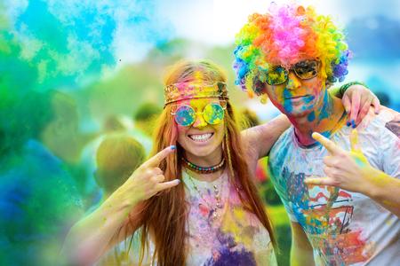 Holi paint festival