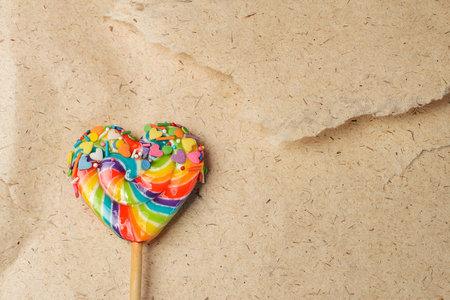 heart shaped lollipop