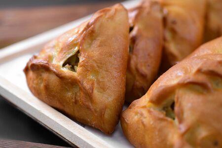 Russian traditional pirogi