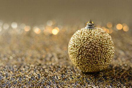 Golden sparkles background