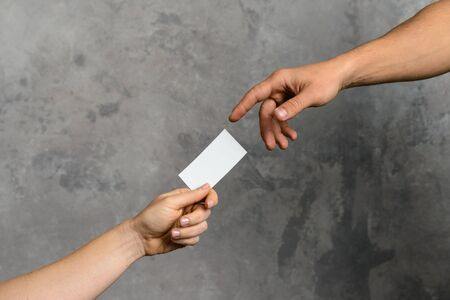The Creation of business card