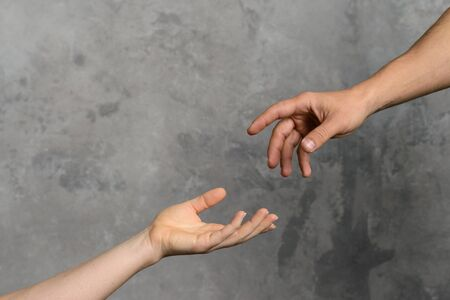 Helping hand symbol
