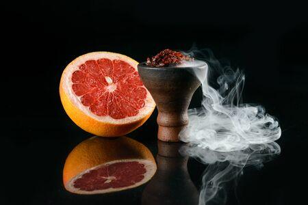 Tart tobacco with grapefruit aroma Stock Photo