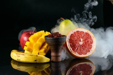 Exotic tobacco with multyfruit