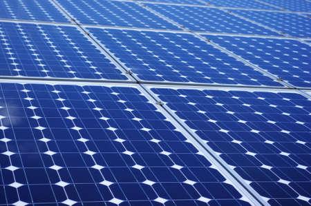 New blue solar panels Stock Photo - 7671827
