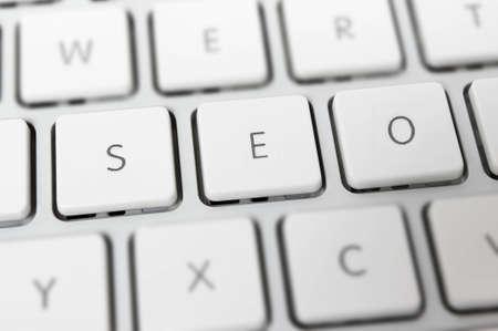 seo: SEO - Internet zoekmachine optimalisatie Stockfoto